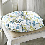 Meadow Leaves Kitchen Chair Cushion