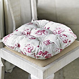 Antique Rose Kitchen Chair Cushion