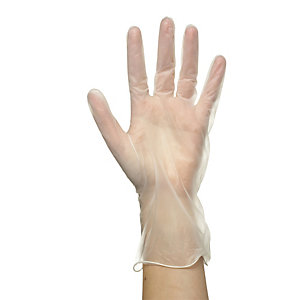 100 Medium Disposable Vinyl Gloves