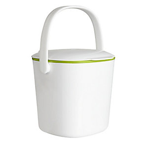 OXO Good Grips® Food Compost Bin - White 2.8L