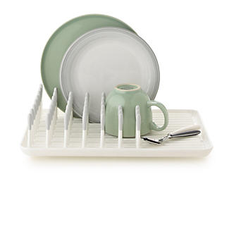 OXO Good Grips® Small Compact Dish Drainer Rack - White