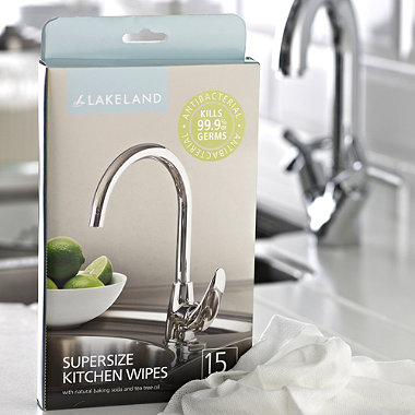 15 Supersize Kitchen Wipes