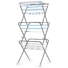 Easy Up Concertina Indoor Clothes Airer Deluxe 15m