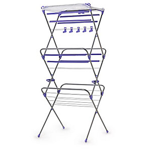 Deluxe Easy-Up Concertina Clothes Airer