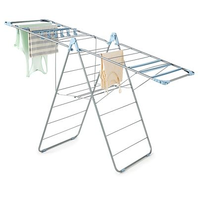 Foldable Winged Indoor Clothes Airer Deluxe 13m