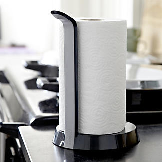 Joseph Easy Tear Kitchen Roll Holder Grey Alt Image 2