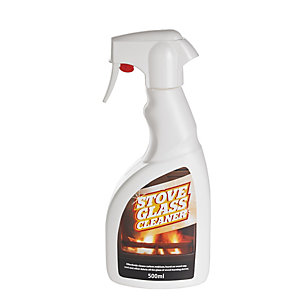 Wood Burning Stove Glass Cleaner Spray 500ml