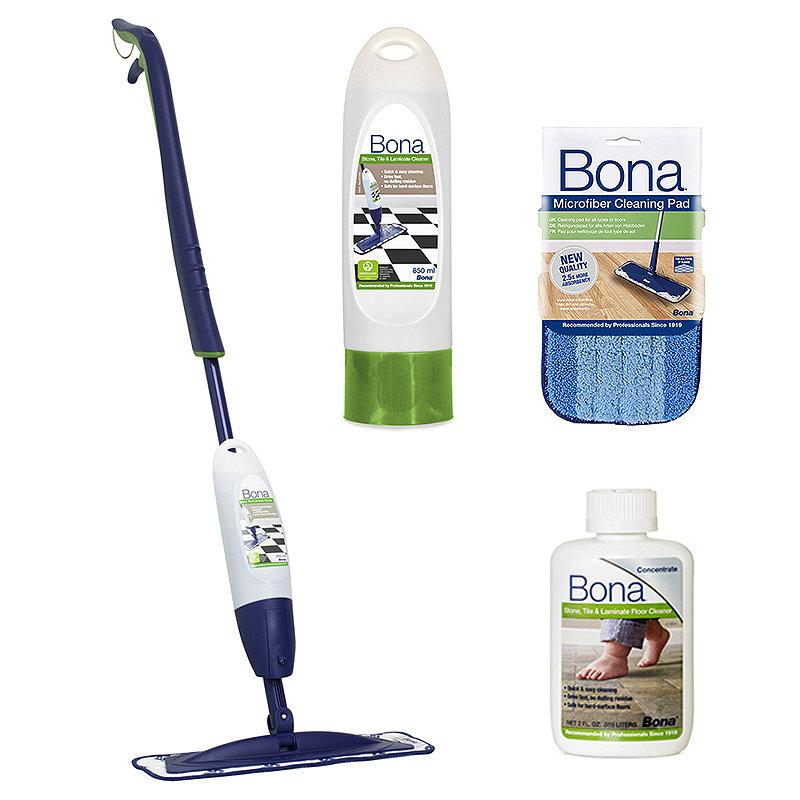 Bona® Stone Tile and Laminate Spray Mop Kit