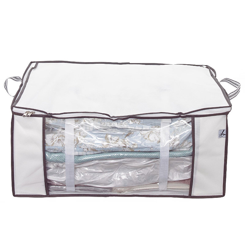 Vacuum Clothes & Duvet Storage Tote Bag -