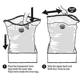 Lakeland Vacuum Clothes & Duvet Storage Tote Bag - 87L Jumbo alt image 4