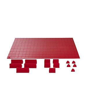 Deluxe Drawer Organiser System Red