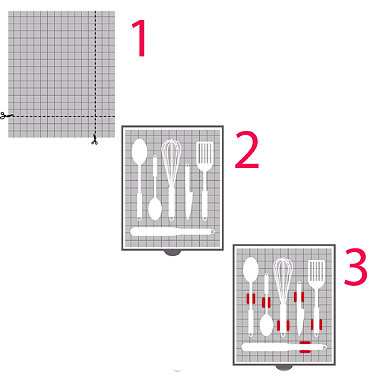 Deluxe Drawer Organiser System Red