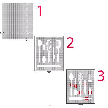 Deluxe Drawer Organiser System Natural