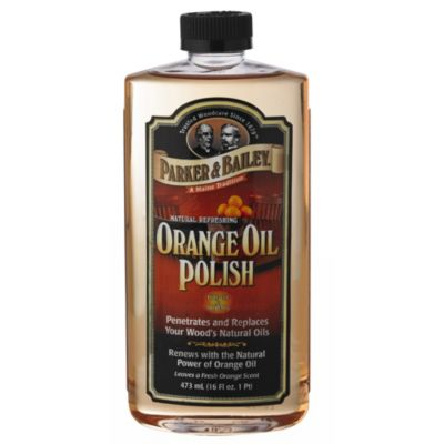 Parker Bailey Orange Oil Wooden Furniture Polish 473ml