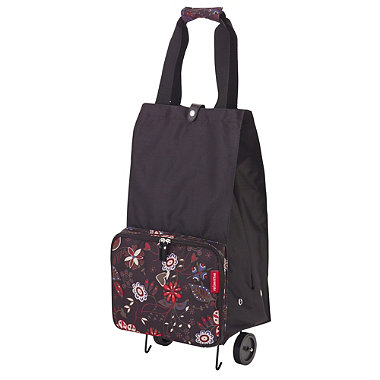 Floral Foldable Shopping Trolley