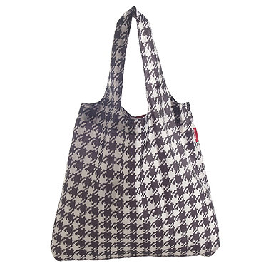 Dogtooth Foldable Shopping Bag