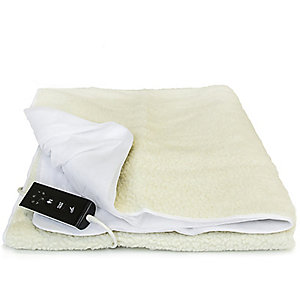 Luxury Fleece Fitted Electric Blanket - Single