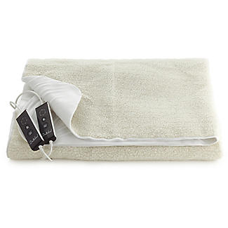 Luxury Fleece Fitted Electric Blanket - Double alt image 1