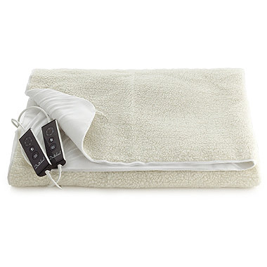 Luxury Fleece Fitted Electric Blankets - Double