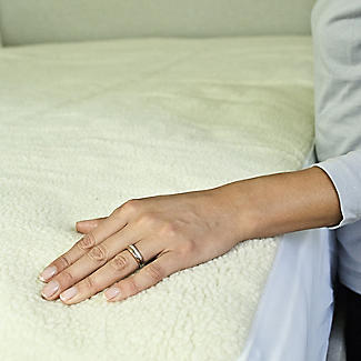 Luxury Fleece Fitted Electric Blanket - Double alt image 4