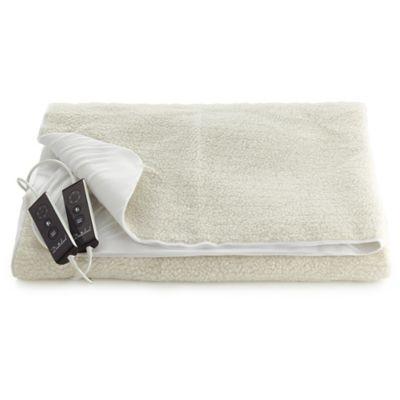 luxury fleece fitted electric blanket king size. Black Bedroom Furniture Sets. Home Design Ideas