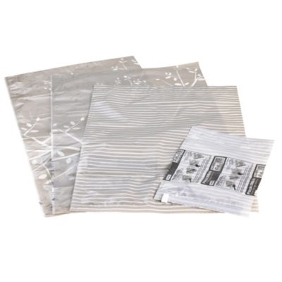 4 PackMate&174 Anti Mould Clothes Vacuum Storage Bags (Assorted Sizes)