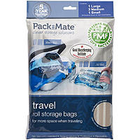 4 Pack-Mate® Anti Mould Travel Bags