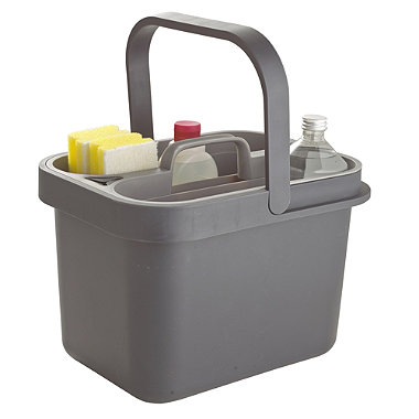 joseph joseph bucket caddy grey in buckets at lakeland. Black Bedroom Furniture Sets. Home Design Ideas