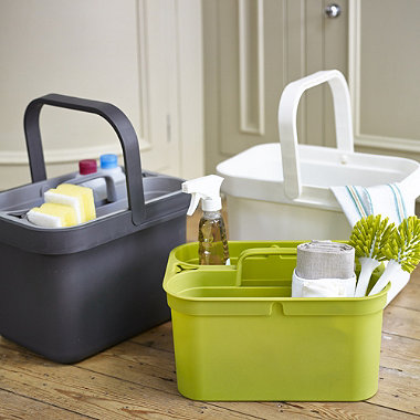 joseph joseph bucket caddy white in buckets bowls and stands at lakeland. Black Bedroom Furniture Sets. Home Design Ideas