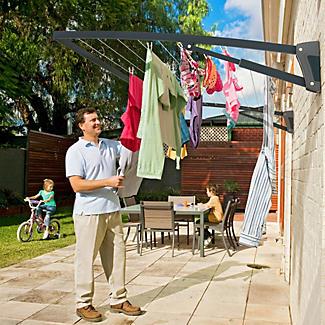 Hills® Supa Fold Mono Washing Line – Midnight Sky Blue  alt image 2