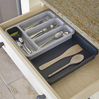 Joseph Joseph® Expandable Cutlery Tray Grey