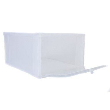 Large Drop Front Shoe Box