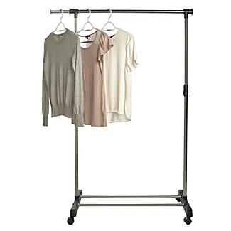 extending single pole garment rail on wheels lakeland. Black Bedroom Furniture Sets. Home Design Ideas
