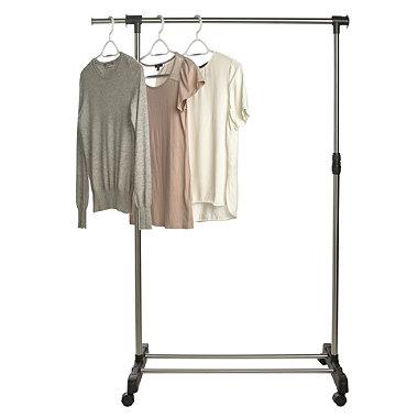 Single Pole Garment Rail