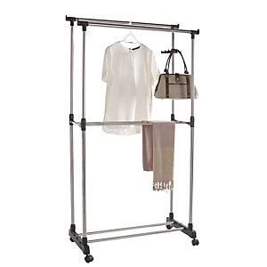 Double Pole Garment Rail
