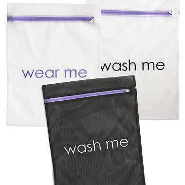 3 Wear Me Wash Me Travel Laundry Bags
