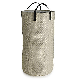Standing Laundry Tote Canvas Basket 48L.