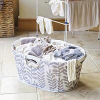 Leaves Laundry Basket
