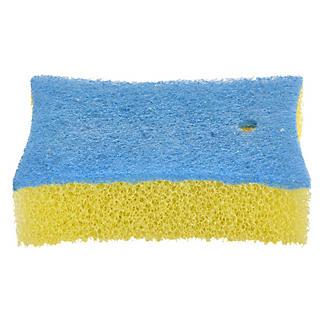 Nicht Kratzender Reinigungsschwamm Für Fliesen Und Bad
