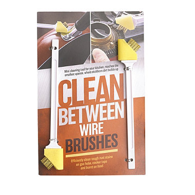 Clean-Between Wire Brushes