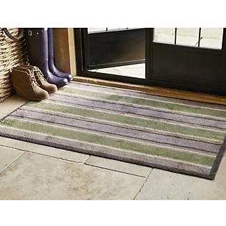 Extra Large Spring Stripes Turtle Mat