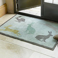 Turtle Indoor Floor & Door Mat Country Living Hares - 85 x 59cm