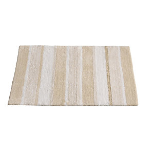 Sand Stripe Bath Mat