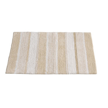 Sand Stripe Bath Mat