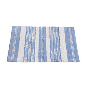 Sea Stripe Bath Mat
