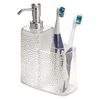 Rain Soap Pump and Toothbrush Holder