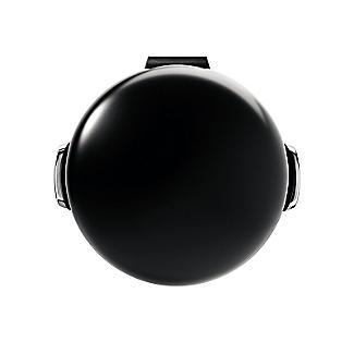 simplehuman Retro Diner-Style Kitchen Waste Pedal Bin - Black 30L alt image 2