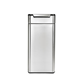 simplehuman Touch Bar Kitchen Waste Bin - Silver 30L alt image 2