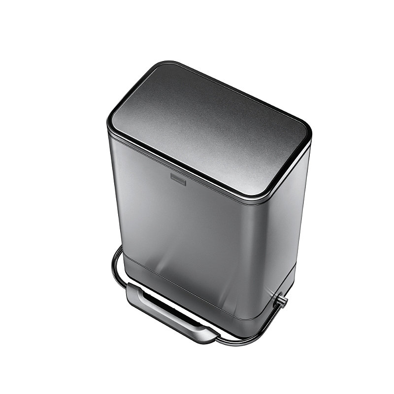 simplehuman 38L Steel Bar Pedal Kitchen Waste Bin. Simplehuman Bathroom Bin