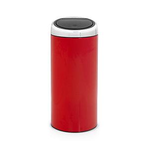 Brabantia® Red Touch Bin 30L.